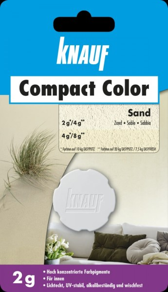 Knauf Farbpigment Compact Color 2 g sand