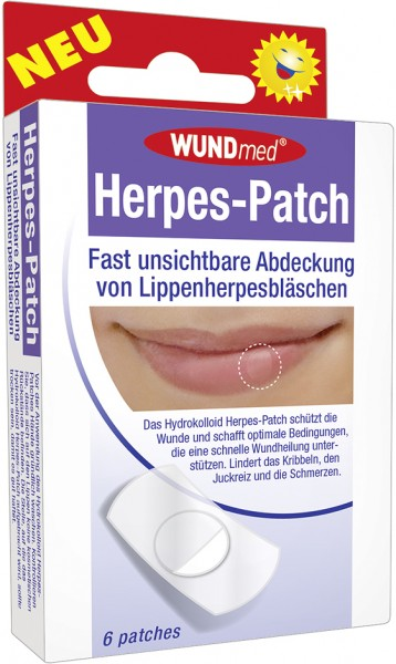 Wundmed Herpes-Patch 3,8 cm x 3,8 cm