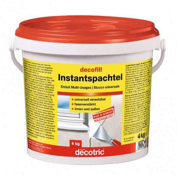 Decotric decofill instant 4 kg
