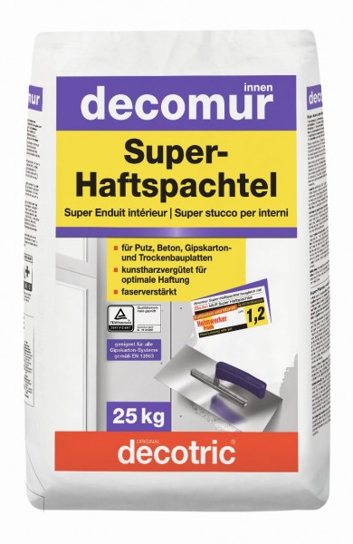 Decotric Super-Haftspachtel Decomur 25 kg