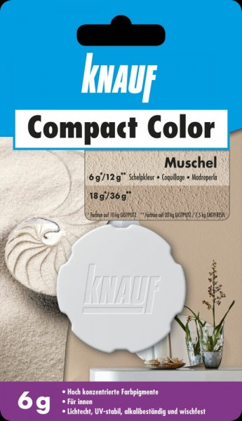 Knauf Farbpigment Compact Color 6 g muschel