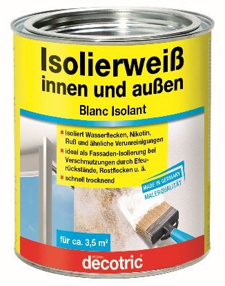 Decotric Isolierweiß 750 ml