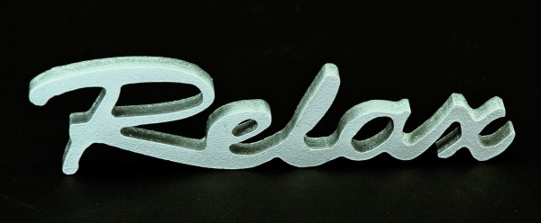 The Wall Magnet Relax silber 22 x 20 cm