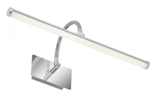 Briloner LED Bad-Wandleuchte SPLASH chrom 1-flammig mit Flexarm