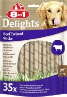 8in1 Hundesnack Delights Twisted Sticks