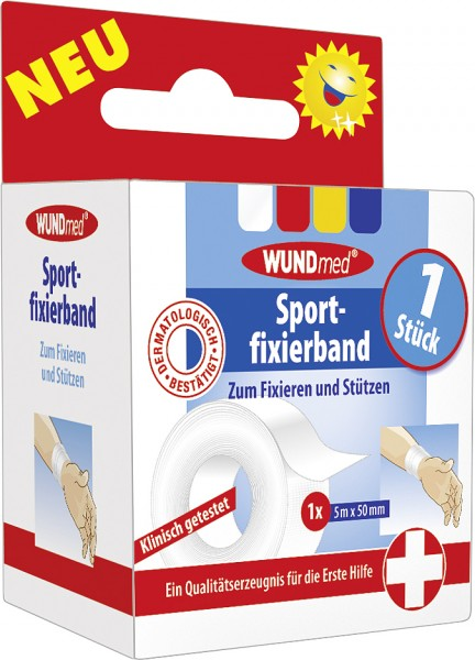 Wundmed Sportfixierband 5 m x 5 cm
