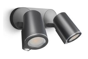 Steinel LED Strahler Spot DUO Connect anthrazit