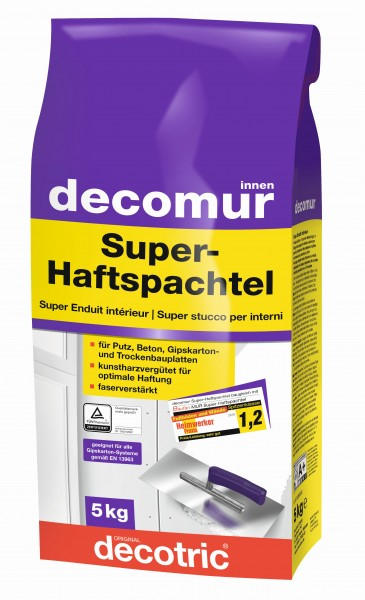 Decotric Super-Haftspachtel Decomur 5 kg