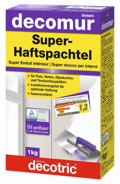 Decotric Super-Haftspachtel Decomur 1 kg