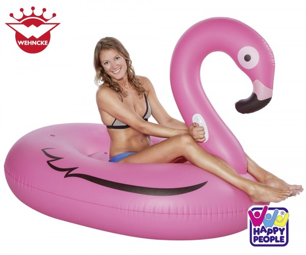 Happy People Schwimm-Floater Flamingo