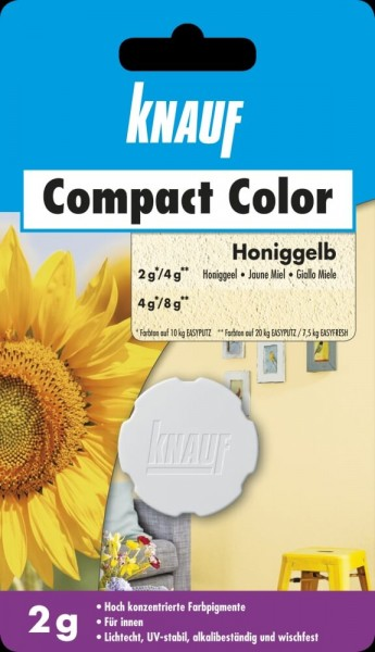 Knauf Farbpigment Compact Color 2 g honiggelb