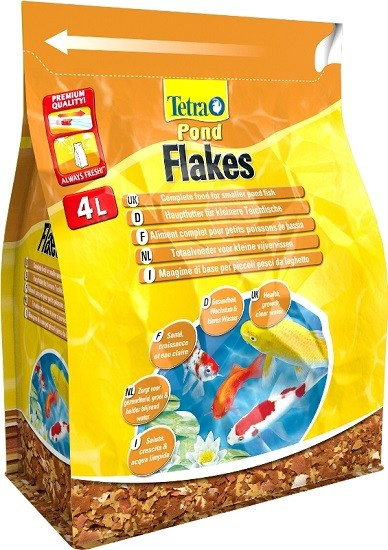 Tetra Teichfutter Pond Flakes 4 l