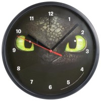 Dreamworks Dragons Ohnezahn Toothless Wanduhr