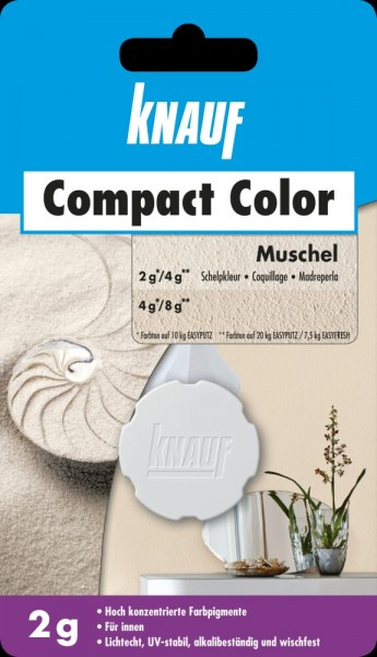 Knauf Farbpigment Compact Color 2 g muschel