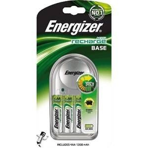 Energizer Base Charger inkl. 4-Mignon AA