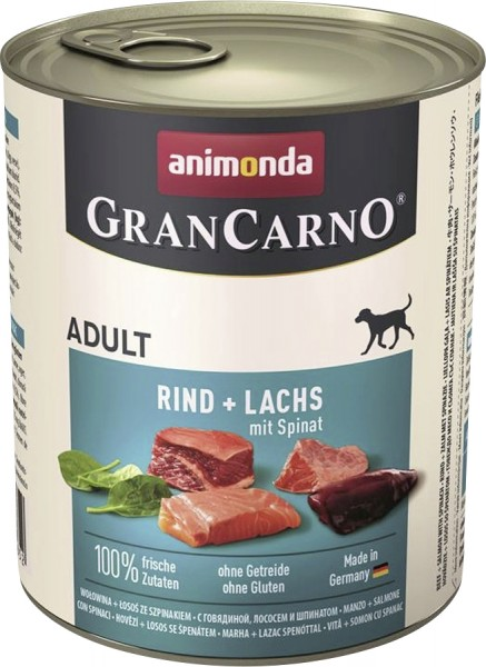 Animonda Dog Dose GranCarno Adult Seelachs & Spinat 800 g