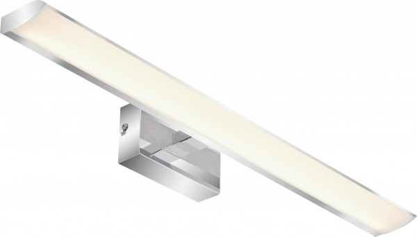 Briloner LED Bad-Wandleuchte Surf chrom 60 cm