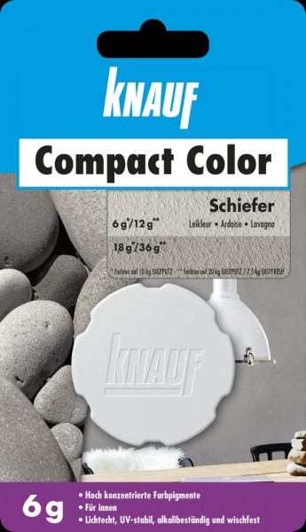 Knauf Farbpigment Compact Color 6 g schiefer