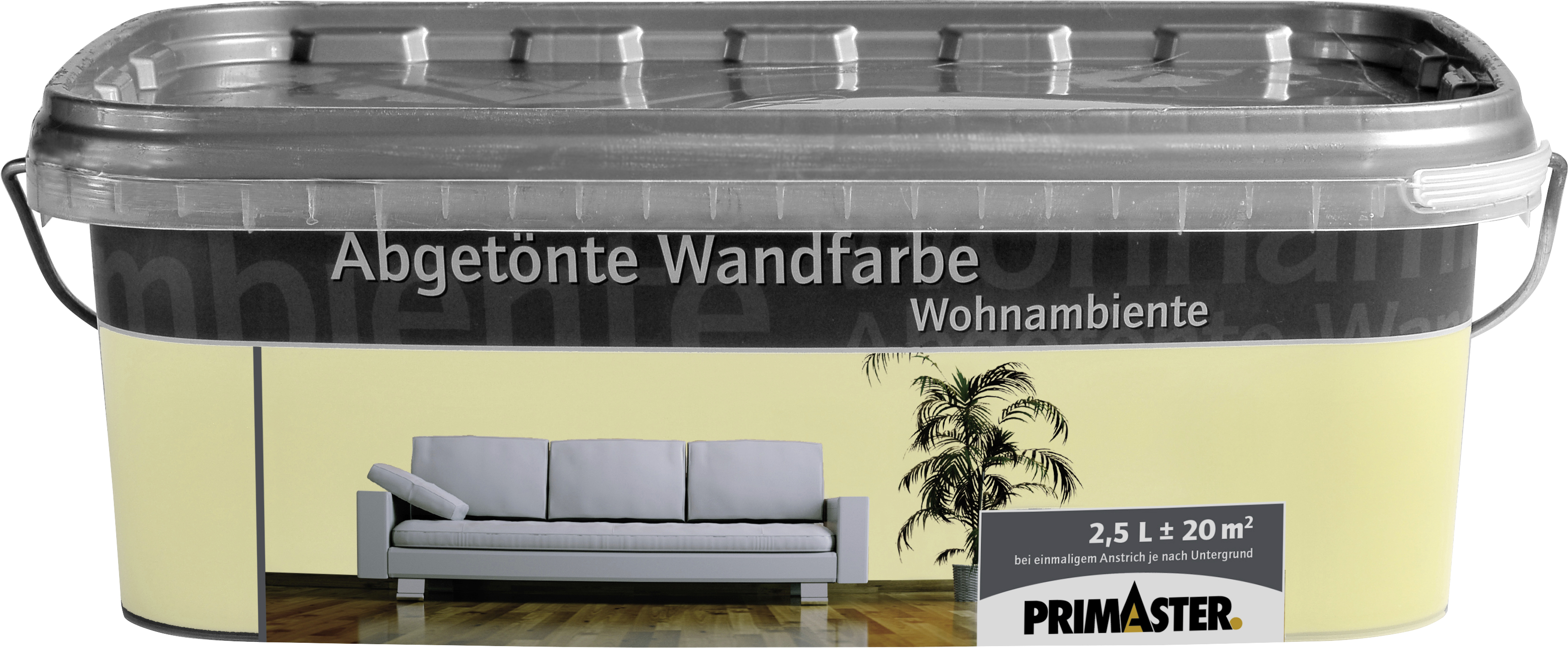 primaster wandfarbe wohnambiente farbig globus baumarkt online shop. Black Bedroom Furniture Sets. Home Design Ideas
