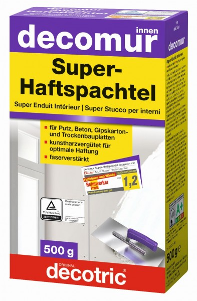 Decotric Super-Haftspachtel Decomur 500 g