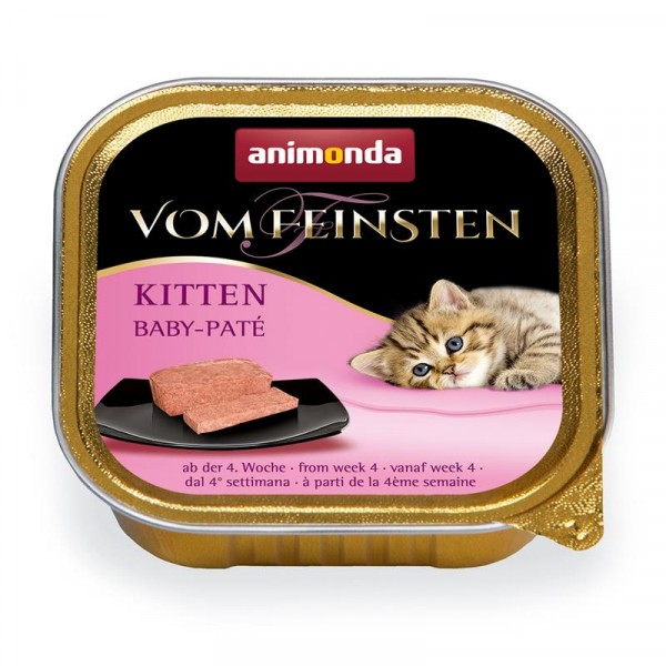 Animonda Katzennassfutter Kitten Baby Paté 100 g