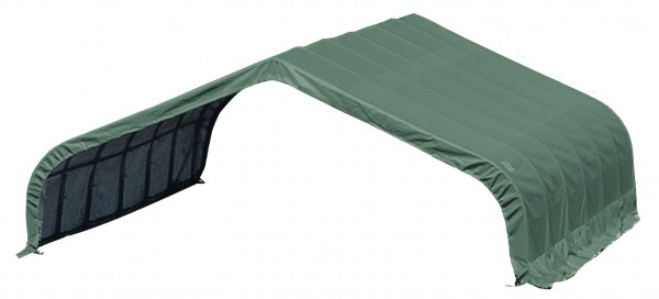 ShelterLogic Weidezelt Run-In-Shed 670 x 320 x 610 cm grün