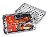 Flash Alu-Grillschalen