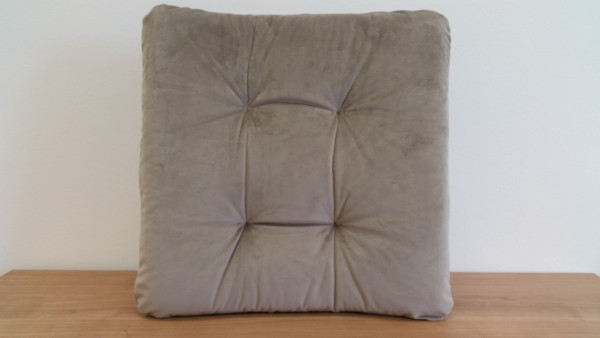 Dohle + Menk Stuhlkissen Riviera taupe 42 x 42 x 6 cm
