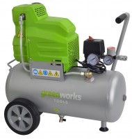 Greenworks Kompressor Set 24 l