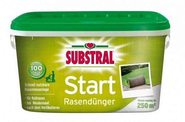 Substral Start-Rasen Dünger f. 250m² 5 kg
