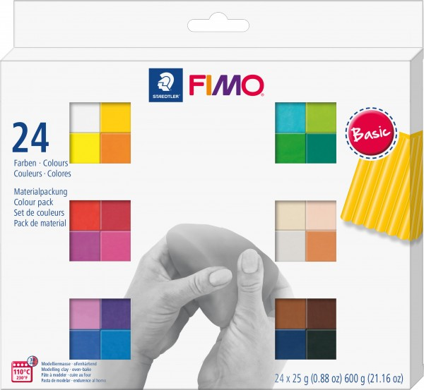 Fimo Soft Colour Pack 24 x 25 g