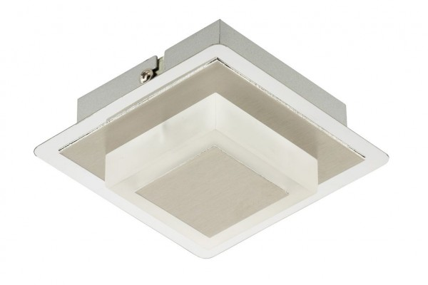 Briloner LED Wandleuchte Metallo alu chrom