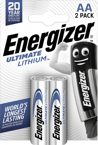 Energizer Ultimate Lithium Mignon AA 1,5 V 2er Pack