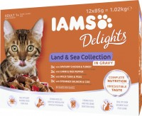 Iams Delights Katzennassfutter Land & See Collection in Sauce