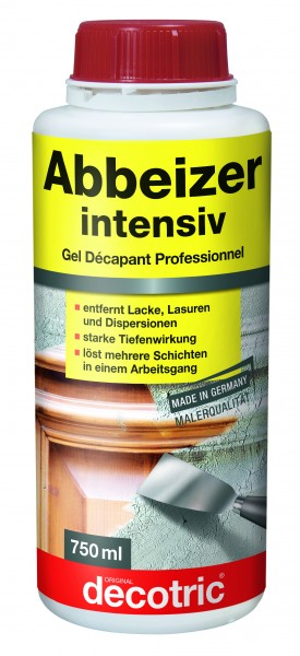 Decotric Intensiv Abbeizer 750 ml