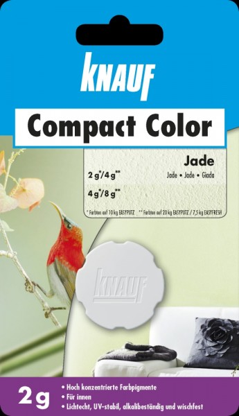 Knauf Farbpigment Compact Color 2 g jade
