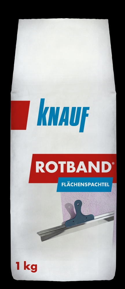 knauf rotband fl chenspachtel 1 kg haftputz rotband. Black Bedroom Furniture Sets. Home Design Ideas