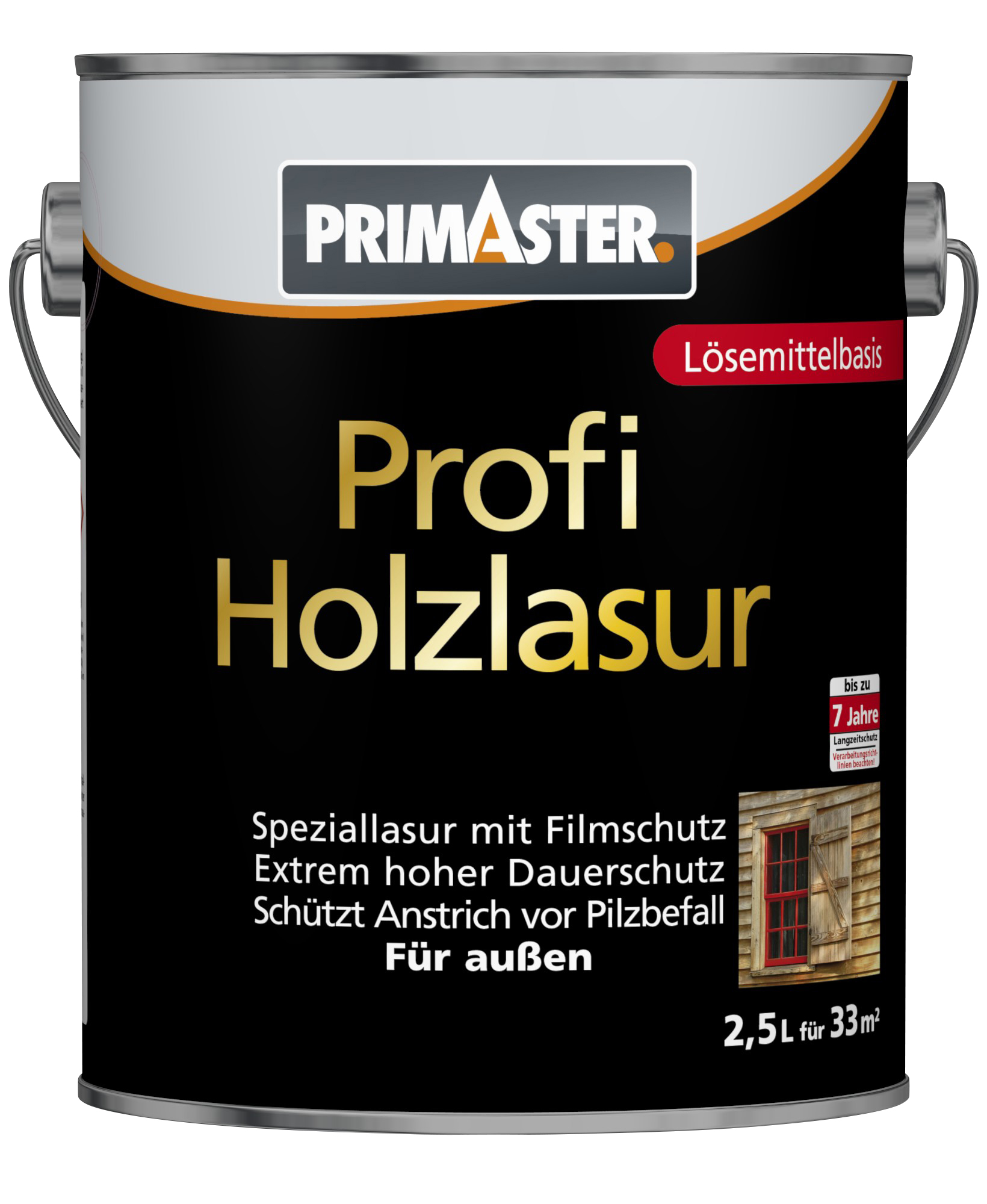 primaster profi holzschutzlasur holzlasuren globus baumarkt online shop. Black Bedroom Furniture Sets. Home Design Ideas