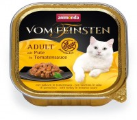 Animonda Cat Vom Feinsten mit Pute in Tomatensauce