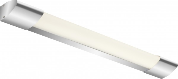Briloner LED Bad-Wandleuchte Surf chrom 59 cm