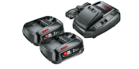 Bosch Akku Starter-Set Power4All